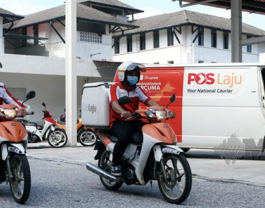 Courier service a lifeline in time of enforced isolation