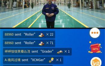 XCMG's First Livestreaming of 2020 International Customer Festival Achieves Turnover of US$21 Million
