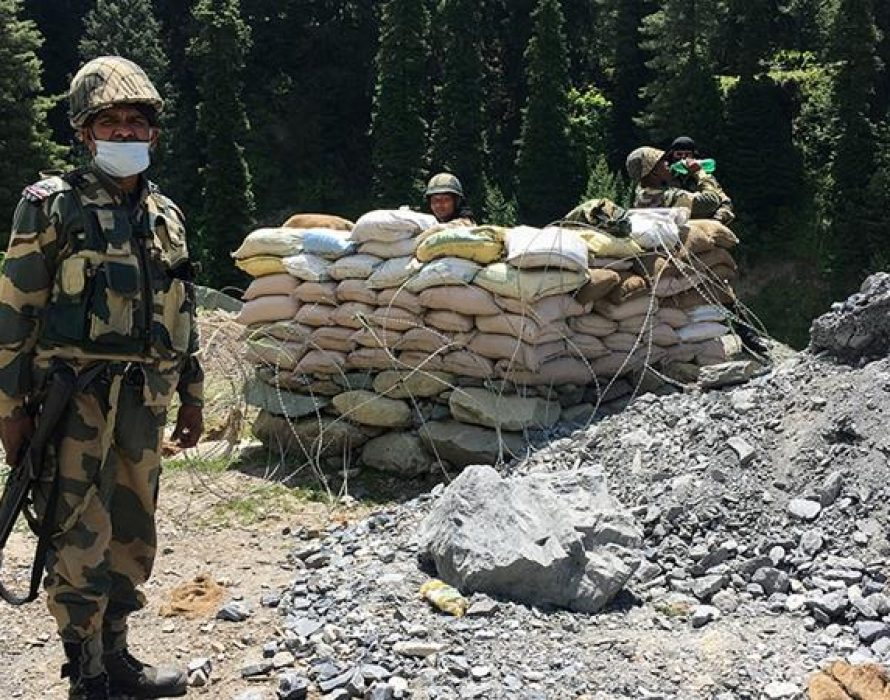 India: China amassed troops along border in violation of agreements