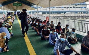 82 Indonesian illegal immigrants deported from Sabah today