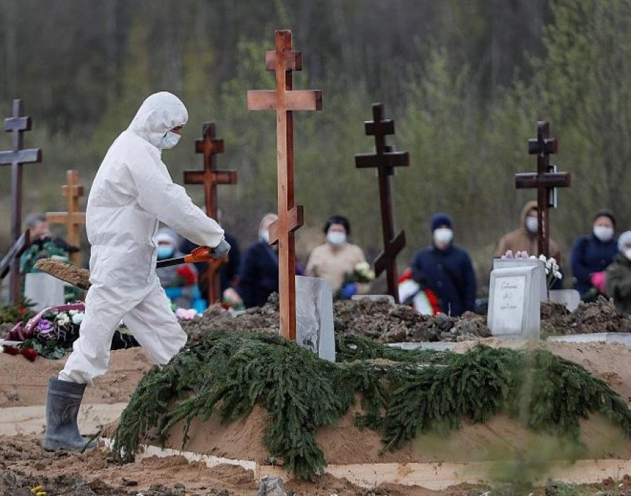 Russian city of St. Petersburg reports spike in deaths in May amid COVID-19 outbreak
