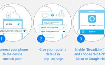 BroadLink: Setting Up Smart Home Product No Longer Requires an APP
