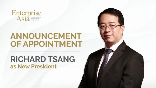 Richard Tsang, Enterprise Asia's newly appointed President