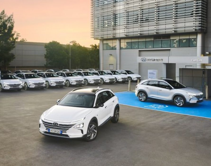 Hyundai NEXO Fuel Cell Electric Vehicle fleet arrives in Australia