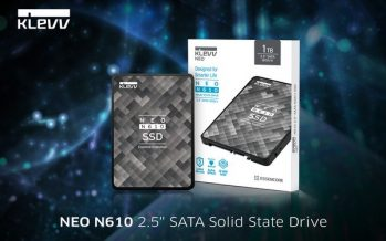 KLEVV is Launching the Latest SSD Lineup: NEO N610 2.5″ SATA & CRAS C710 M.2 NVMe SSDs