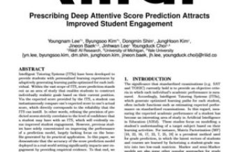 Riiid AI study – to be presented at EDM 2020 – proves students more engaged by deep-learning algorithm