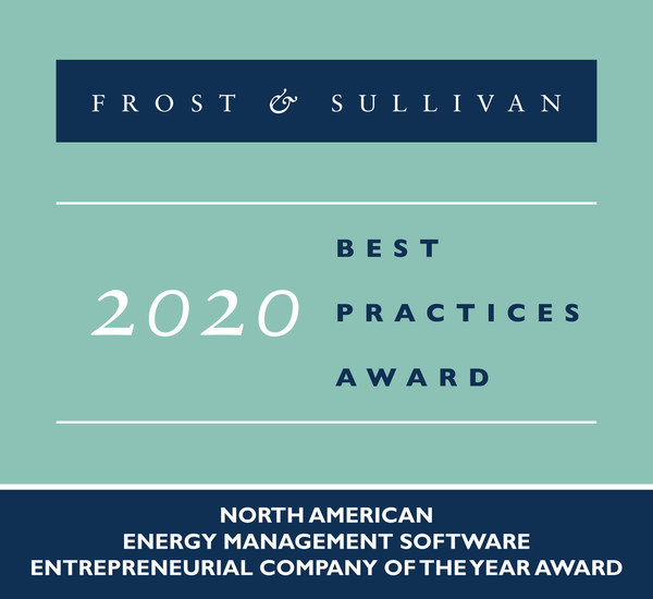 2020 North American Energy Management Software Entrepreneurial Company of the Year Award
