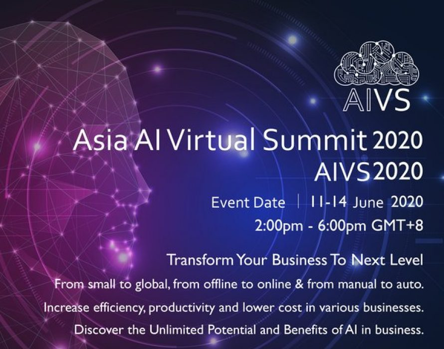V Connect Launches Asia Artificial Intelligence Virtual Summit 2020