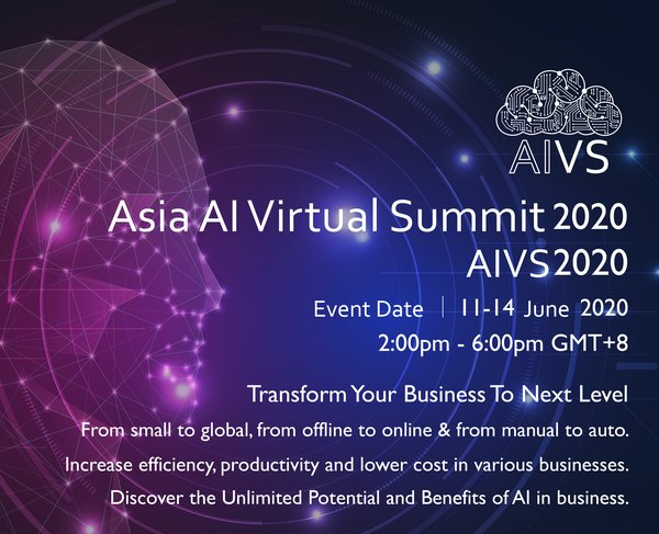 Asia Artificial Intelligence Virtual Summit 2020