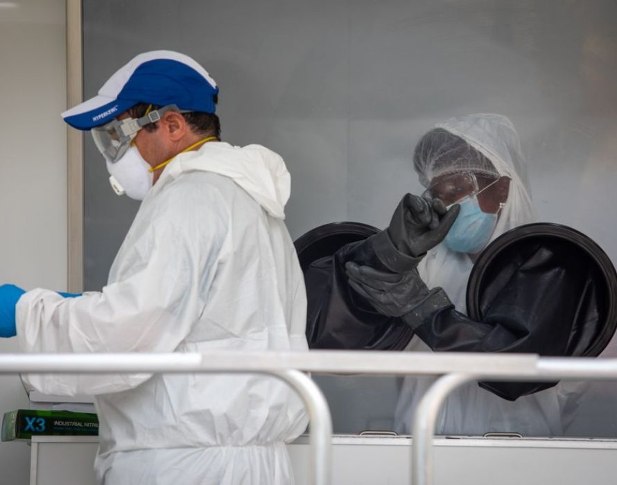Florida coronavirus cases surge for fifth day as Trump pledges outbreak will be under control