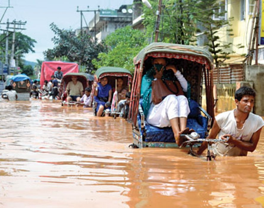 Floods in India, Nepal displace nearly four million people, at least 189 dead