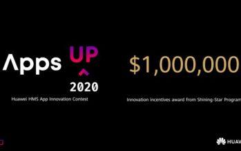 Awards USD$1 Million Prize, HUAWEI HMS App Innovation Contest Goes Global