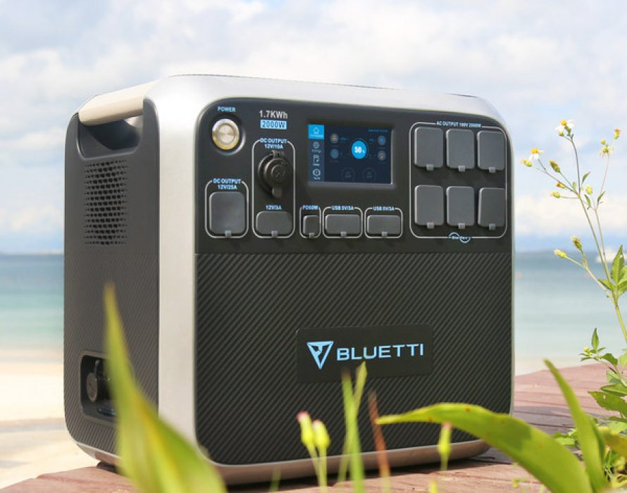 BLUETTI AC200: The Ultimate 2000W Portable Solar Power Station Goes on Crowdfunding via Indiegogo