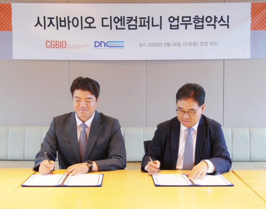 CGBIO signs MOU with DNCompany to seize the Korean Premium Filler Market