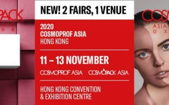 Cosmopack and Cosmoprof Asia Held Under One Roof in 2020