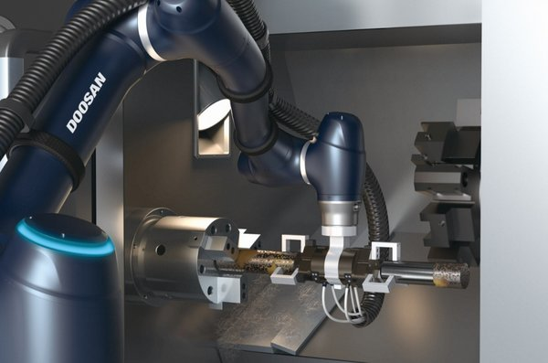 The new A-SERIES supporting a machine tool