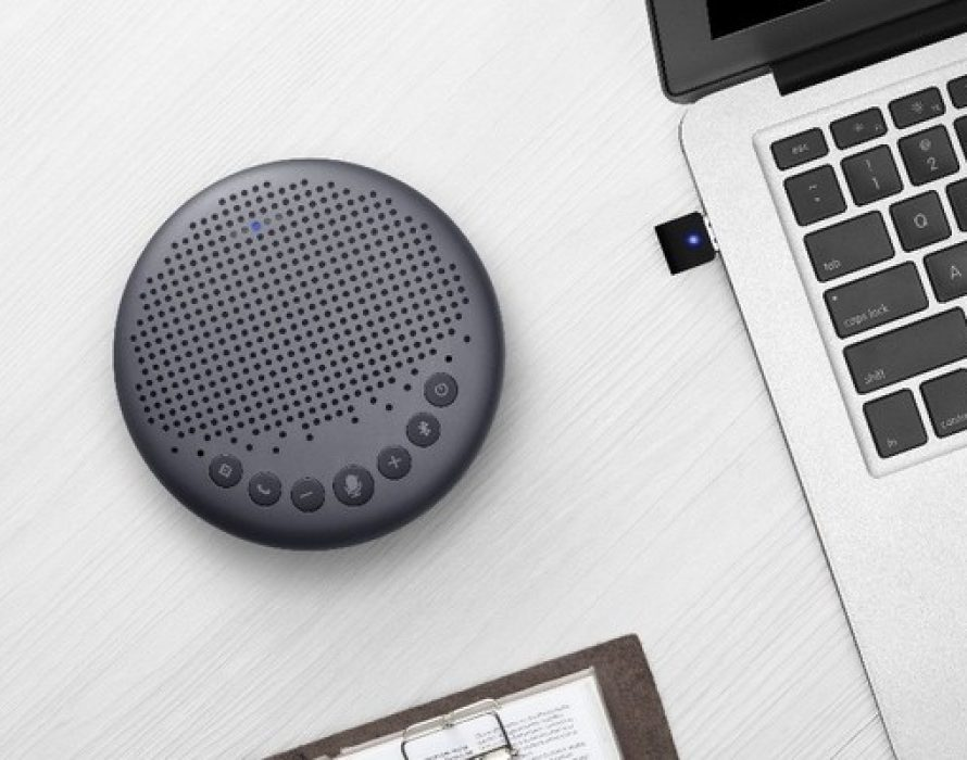 eMeet Luna Speakerphone: The New Generation Technology Perfect for Multi-People Conference