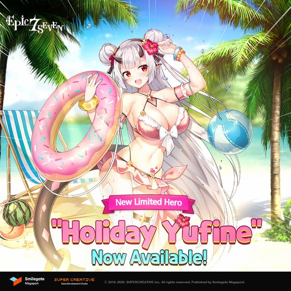 "Epic Seven Releases New Limited Hero ""Holiday Yufine"""