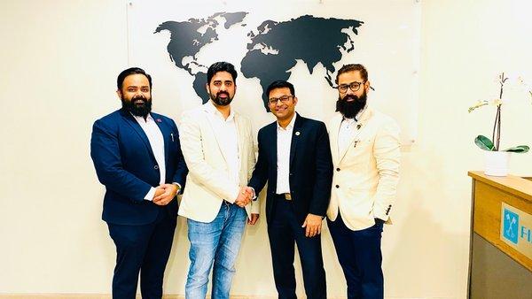 L-R - Dr. Nilesh Patil, Varis Sayed, Rahul Pawar, Dr. Roshan Patil