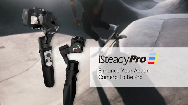 Hohem isteady pro 3 action camera gimbal for GoPro hero 8