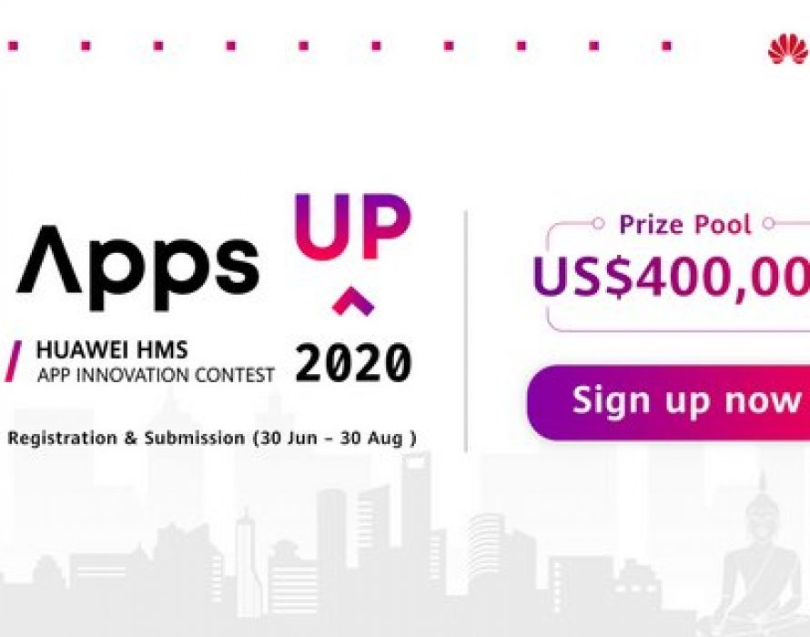 HUAWEI HMS App Innovation Contest, AppsUP goes global