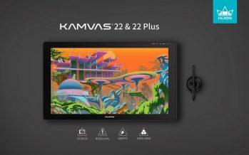 Huion Unveils Its Latest Kamvas 22 & Kamvas 22 Plus to Empower Artists Around the World