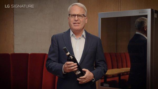 LG SIGNATURE Ambassador James Suckling