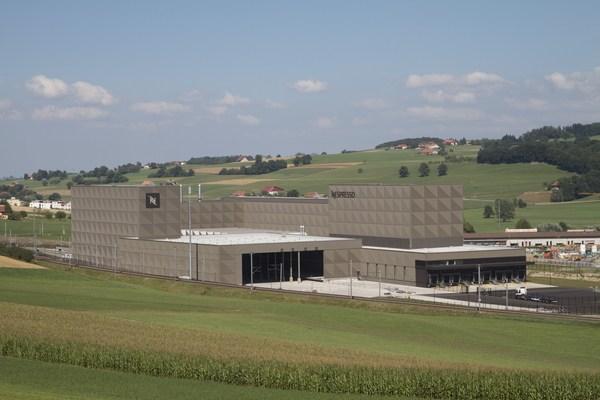 Nespresso Romont production center in Switzerland