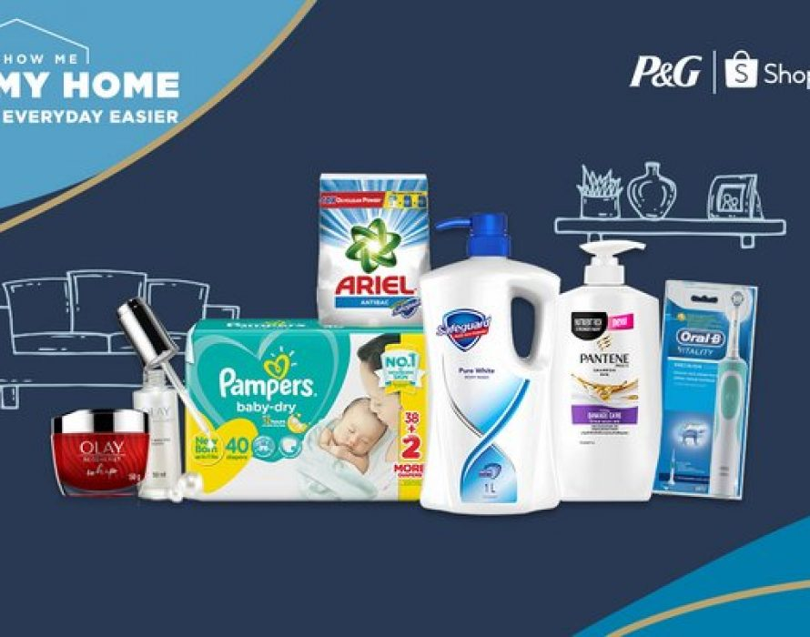 P&G and Shopee inspires home shopping with 'Show Me My Home' experiential microsite in Southeast Asia