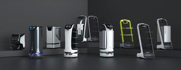 Pudu Robotics all series of products.