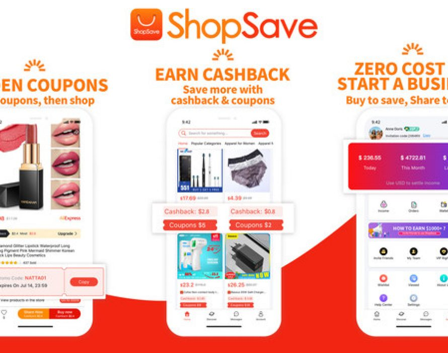 "ShopSave–to Build ""Buy to Save, Share to Earn"" Social E-commerce Cashback Platform"