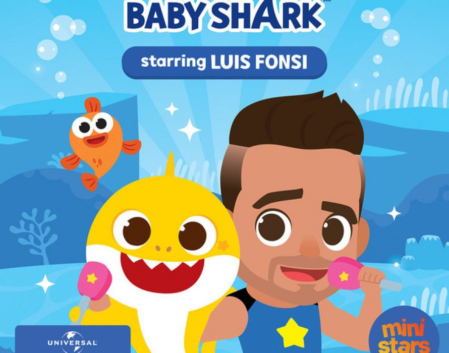 """Universal Music Latin Entertainment and Pinkfong announce partnership for the release of a new edition of """"BABY SHARK"""" featuring Global Latin Superstar LUIS FONSI and some very special guests!"""