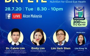 VISTA Eye Specialists Collaborates with Alcon Malaysia and Tigas Pharmacy to Raise Awareness on Dry Eyes