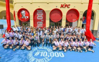 Yum China Reaches Milestone of 10,000 Stores