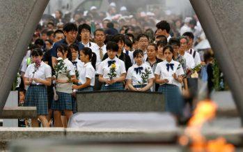 Japan marks 75th anniversary of atomic bombing of Hiroshima