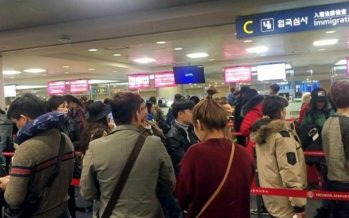 Stranded by coronavirus, foreigners overstaying in S. Korea sharply increase