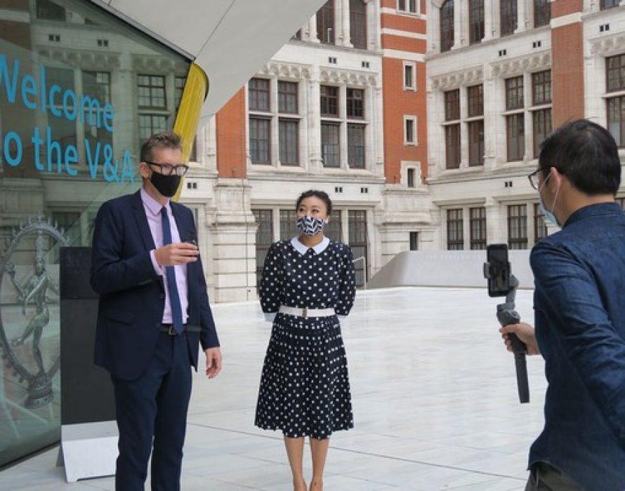 A Unique Art Tour — London-based V&A Museum Goes Virtual on Kuaishou