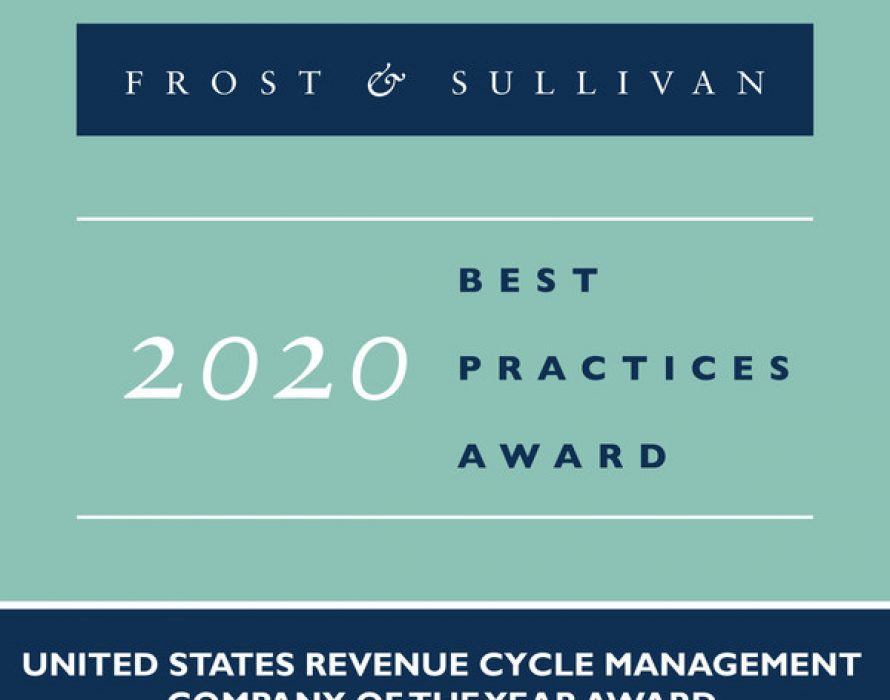 athenahealth Earns the Frost & Sullivan 2020 RCM Company of the Year Award