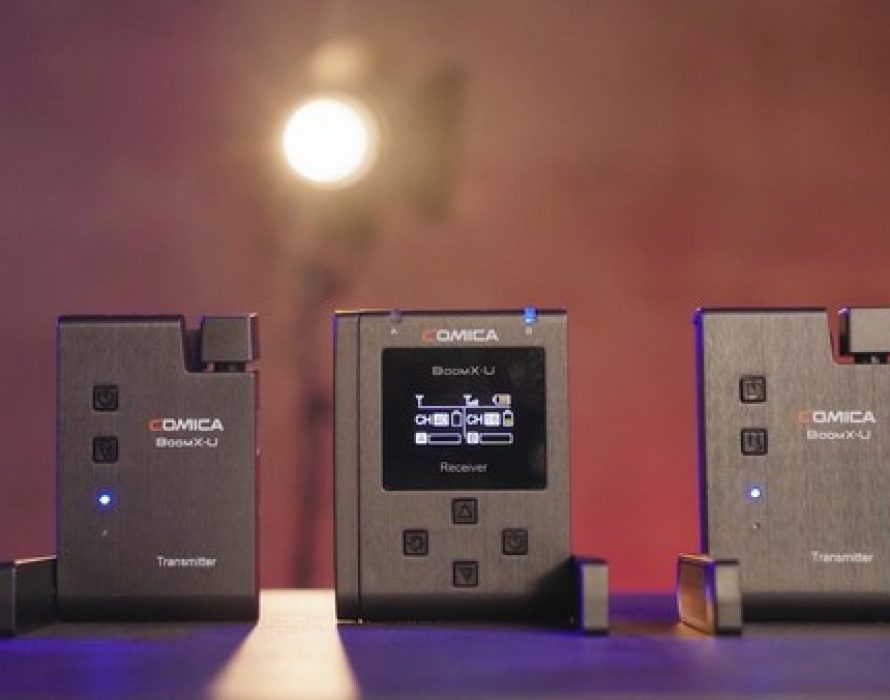 Comica Releases BoomX-U — A New Dual Channel UHF Wireless Microphone