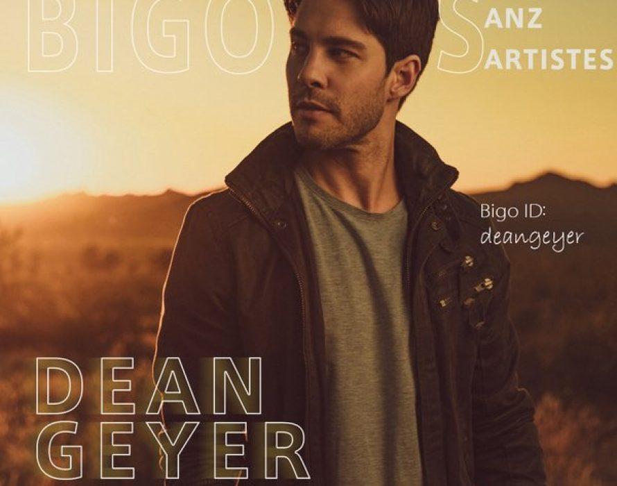 """Dean Geyer Performs Live On """"BIGO's ANZ Artistes"""""""