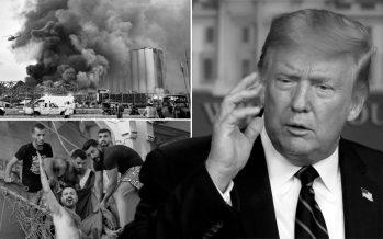 Trump walks back claim that Beirut blast was an attack
