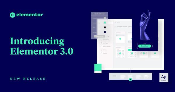 Elementor releases version 3.0
