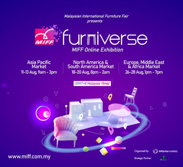 MIFF FURNIVERSE Online Exhibition Opens Today, 3 Geo Targeted Live Events