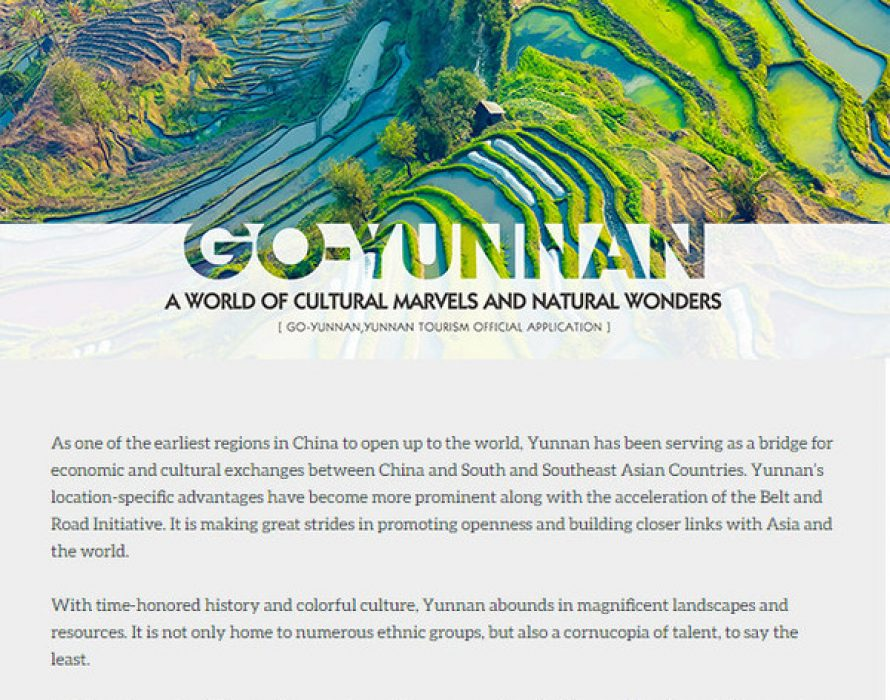 Go-Yunnan 2020: Go-Yunnan Launches Online Poll for the Most Desirable Tourist Attraction in Yunnan