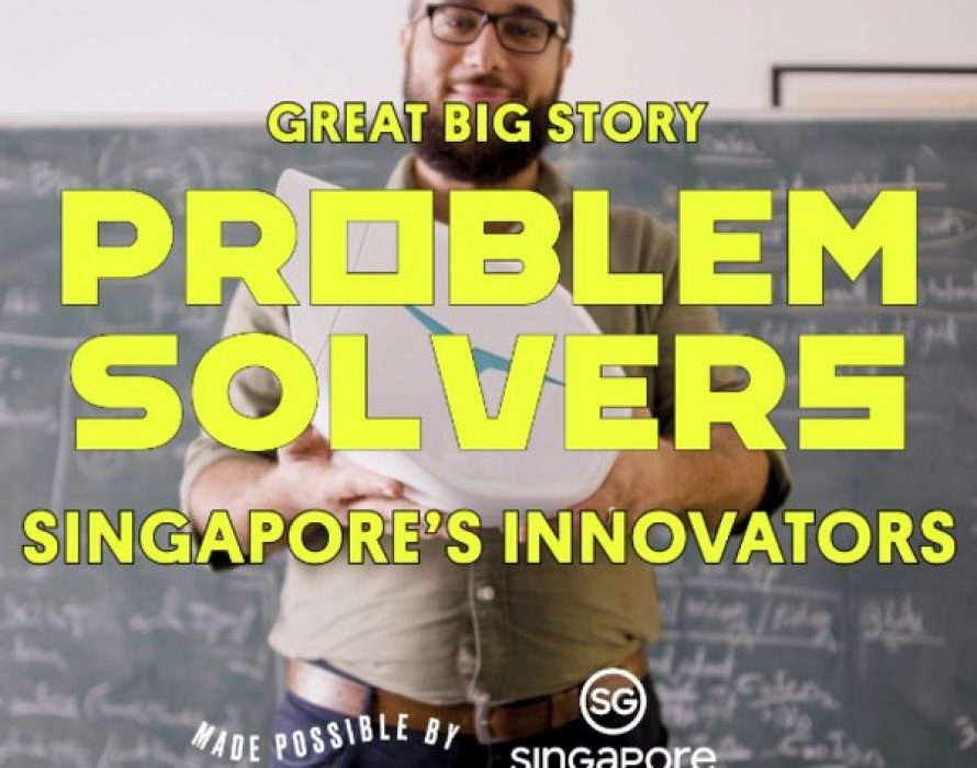 Great Big Story celebrates the innovative spirit of Singapore's Problem Solvers