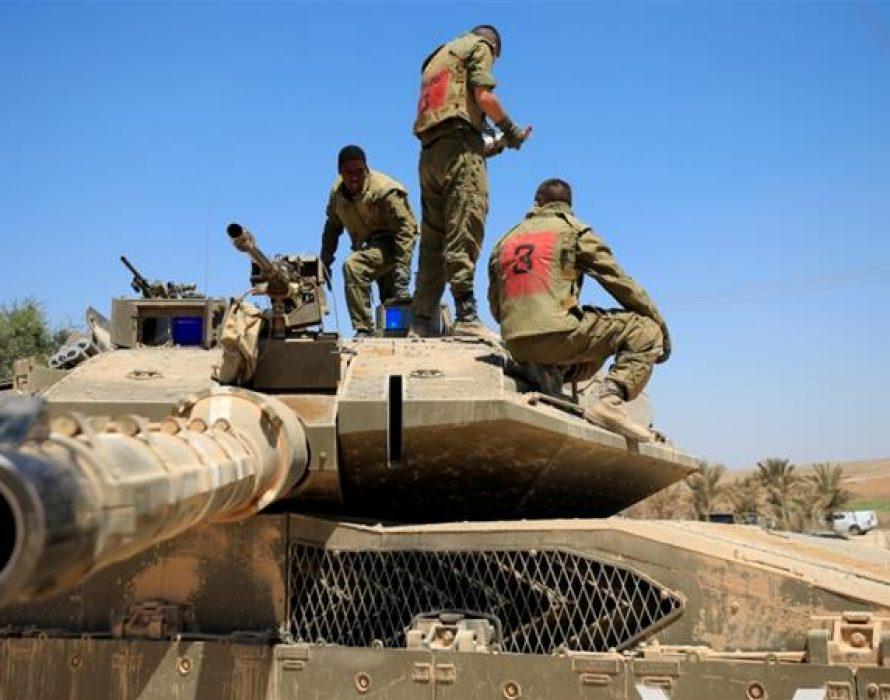 Israeli warplanes target Hamas forces In Gaza