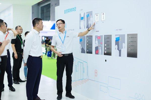 Hitachi Elevator creates an intelligent building transportation system