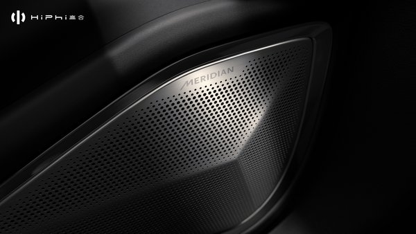 Meridian will become an important partner for HiPhi and this premium audio system will arrive on the HiPhi X, the first application on a Chinese-native brand.