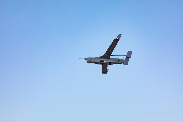 Nova Systems teams with Insitu Pacific as part of the company's LAND 129 Phase3 Tactical UAS proposal to the Australian Army. Pictured, the Insitu Pacific Integrator UAS flying in Australia.