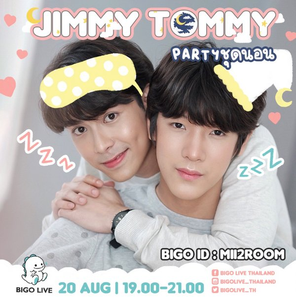Stand a chance to win an exclusive chat with JimmyTommy during the livestream on 20 August